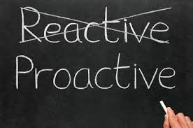 proactive vs reactive customer service