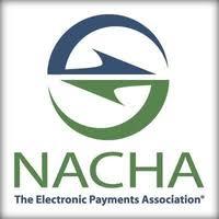 nacha logo. the electronic payments association.