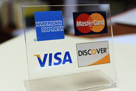 discover credit card and all other cards accepted.